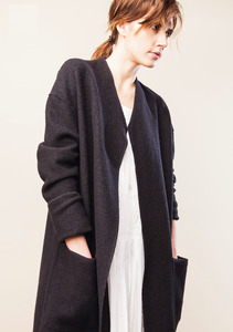 Coat Kelso - Black - LangerChen