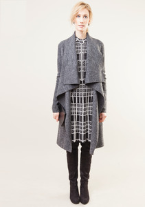Coat Wichita - Granite - LangerChen
