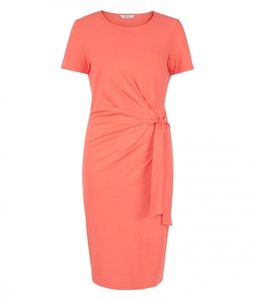 Elsa Dress Coral - People Tree