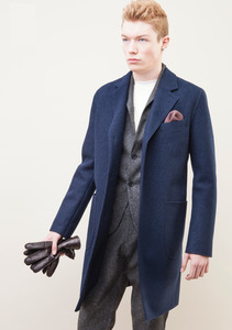 Coat Lynton - Navy - LangerChen