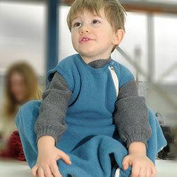 Fleece-Schlafsack ohne Arm 2,5 tog - Reiff