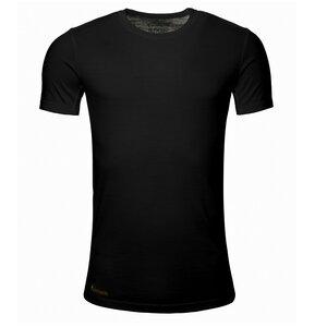 Merino Shirt Kurzarm Slimfit 150 Herren - KAIPARA - Schwarz - Kaipara - Merino Sportswear