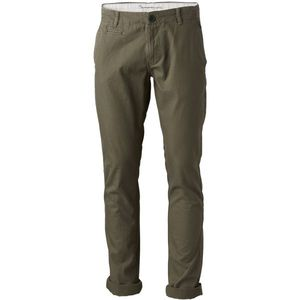 Chino Hose - Chuck The Brain Vegan - Burned Olive - KnowledgeCotton Apparel
