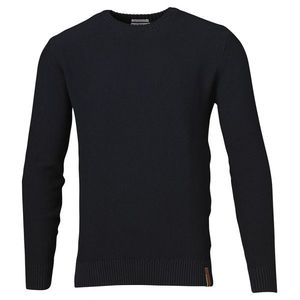 Basic Knit Without Owl - Total Eclipse - KnowledgeCotton Apparel