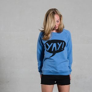 Sweatshirt 'YAY' - DISKO