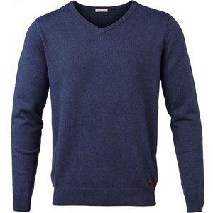 Basic V-Neck Cashmere/Cotton - GOTS - Limoges - KnowledgeCotton Apparel