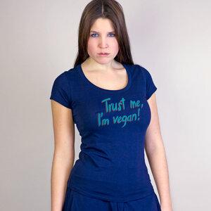 Shirt Trust me, I'm vegan! - Gary Mash