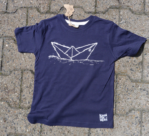 Paperboat Organic & Fair Kinder T-Shirt _ navy - ilovemixtapes