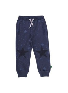Sparkling Sweat Pants Boy - Green Cotton