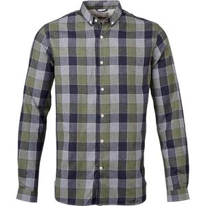 Checked Light Flannel Shirt - GOTS  - KnowledgeCotton Apparel