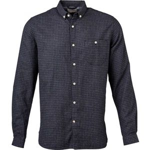 Small Checked Flannel Shirt -GOTS  - KnowledgeCotton Apparel