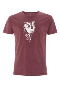 Owl 2.0 MEN`S GARMENT DYED T-SHIRT / Bio & Fair - ilovemixtapes
