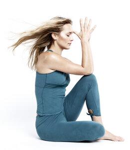 Thai Yoga Legging - petrol - Mandala