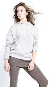 Easy Hoodie - light grey - Mandala