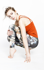 Advanced Yoga Top - safran - Mandala