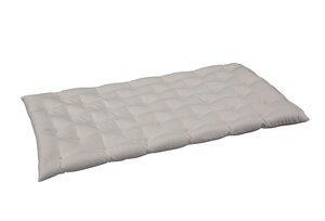 Punktstepp Liegematte für Babywiegen und Kinderbetten - Speltex