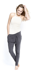 Studio Pants - grey melange - Mandala