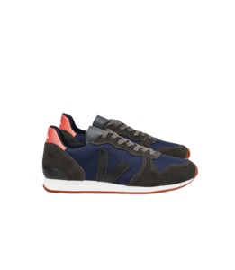 HOLIDAY Canvas B-mesh Nautico Grafite Black - Veja