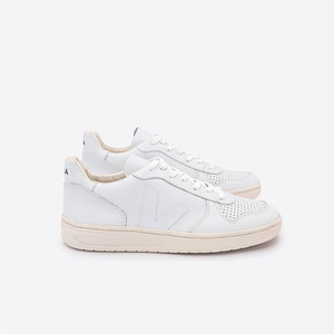Sneaker - V-10 LEATHER - EXTRA WHITE  - Veja