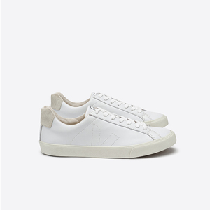 ESPLAR LOW TOP LEATHER - WHITE - Veja