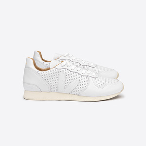 HOLIDAY LOW TOP BASTILLE PERFORATED - EXTRA WHITE - Veja