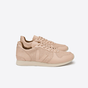 HOLIDAY LOW TOP BASTILLE PERFORATED - NUDE - Veja