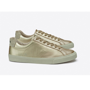 ESPLAR LOW TOP LEATHER - GOLD - Veja