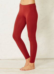 Bamboo Base Layer Leggings-Rust  - Thought | Braintree