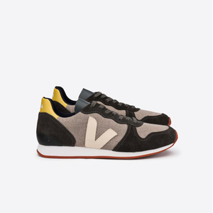 HOLIDAY LOW TOP JUTE - ROCK GRAFITE SABLE - Veja