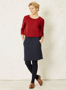 Irena Skirt-Navy  - Braintree