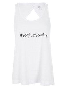 Yogi Top - Weiß  - Mandala