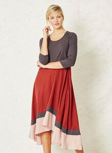 Thora Dress-Rust - Braintree