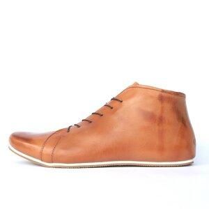 '86 Ankle Boots Cognac / White - SORBAS