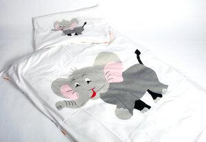 Baby Bettwäsche mit Tierdruck - Preciosa