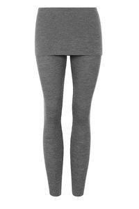 Skirtpants Knit - Grey Melange - Mandala