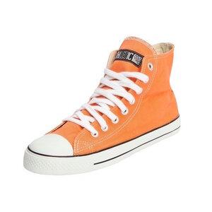 Fair Trainer  Hi Cut Edition Mandarin Orange | Just White - Ethletic
