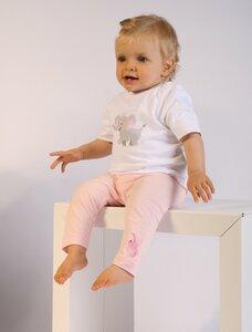 Baby T-Shirt weiß mit Druck 'Elefant'  - Preciosa
