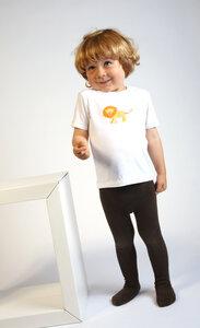Baby T-Shirt weiß mit Druck 'Löwe' - Preciosa