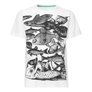 ThokkThokk Fish T-Shirt black/white - THOKKTHOKK