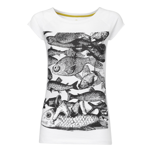 THOKKTHOKK Fish Cap Sleeve black/white - THOKKTHOKK