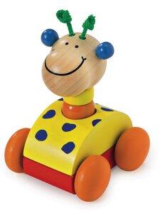 Zoolini Giraffe quietscht bunt schadstofffrei - Selecta