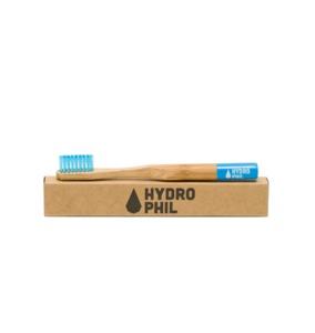 Bambus Kinder Zahnbürste blau - HYDROPHIL
