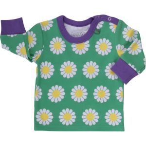 Langarmshirt Daisy GOTS - Green Cotton
