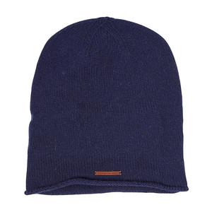 Single Knit Hat - Total Eclipse - KnowledgeCotton Apparel