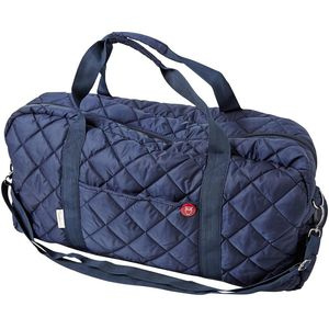 Quilted Travelingbag blau - KnowledgeCotton Apparel