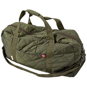 Quilted Travelingbag grün - KnowledgeCotton Apparel
