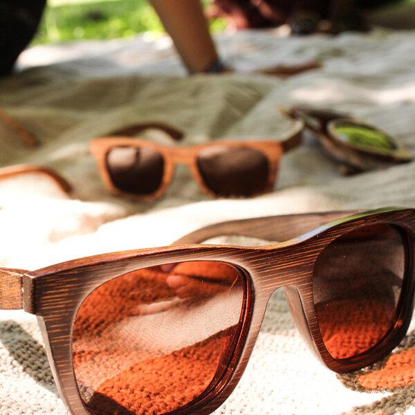 Coromandel Pauanui - Sonnenbrille aus Bambus Li5Ml1NI