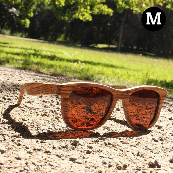 Coromandel Matata - Sonnenbrille aus Zebraholz rUIitKA