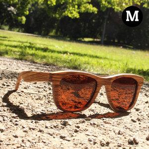 Matata - Sonnenbrille aus Zebraholz - Coromandel