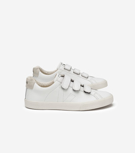 ESPLAR LEATHER 3-LOCKS - WHITE - Veja